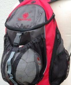Victoriouz URBAN Ball Back Pack i Rød