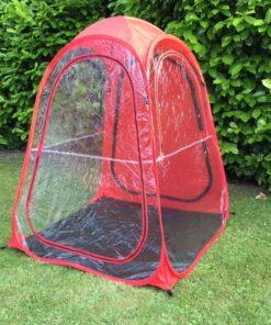 Sports og tilskuer telt i Rød