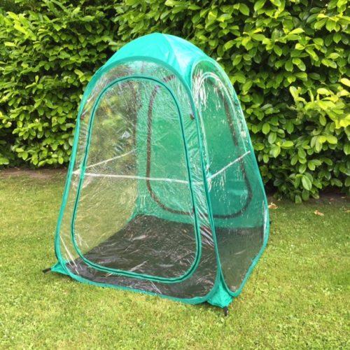Sports og tilskuer telt i grøn