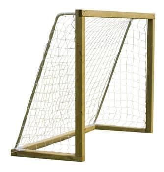2 stk WOODY Plus fodboldmål i træ 300x200cm - Soccerplay.dk