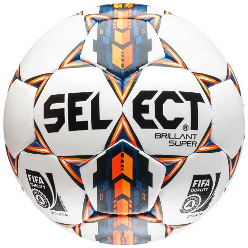 Select Brilliant Super Læderfodbold str. 4