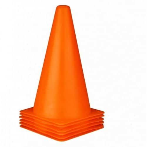 sportskegler i orange 23cm høj