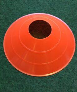 Sports Kegle til fodbold i neon orange.