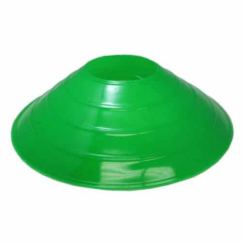 4 stk Sports Kegle til fodbold i Neon Grøn