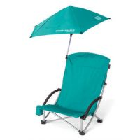 Tilskuerstol med parasol