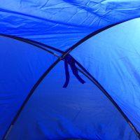 Outdoorsports tilskuertelt i blå6