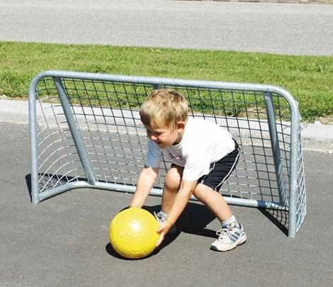 skolegårds fodboldmål i stål1