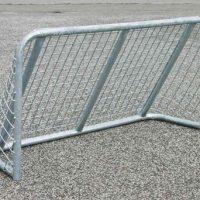 skolegårds fodboldmål i stål