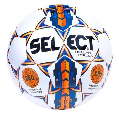10 stk Select Brillant Replica DBU Fodbold str.3