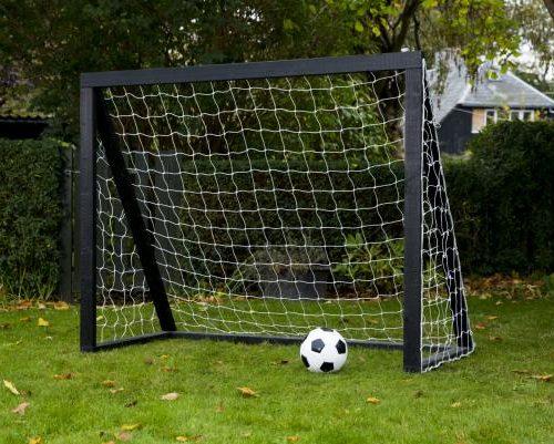 1 stk Fodboldmål i træ Home Garden Pro 175 x 140 cm
