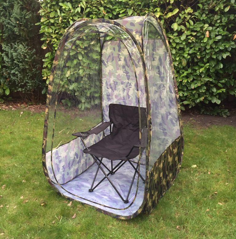 EasyPOP fritid og tilskuer telt i camouflage