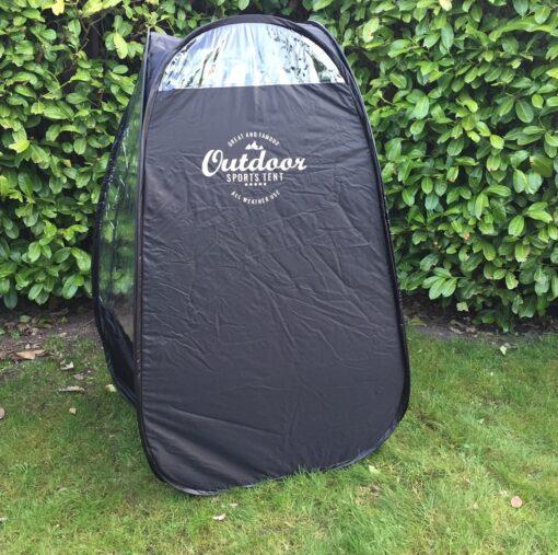 EasyPOP fritid og tilskuer telt i sort