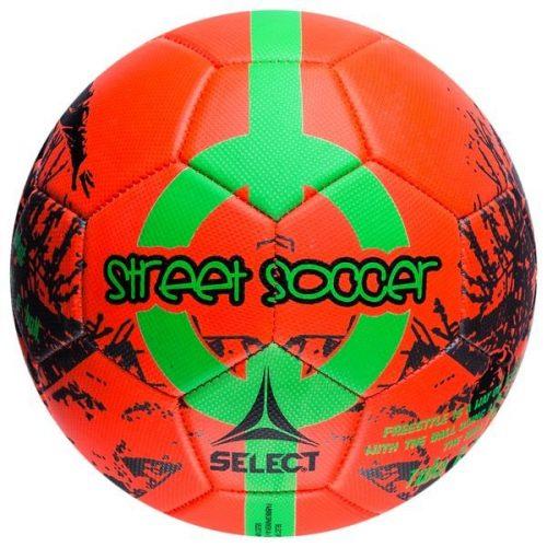 Select Street Soccer Fodbold Orange Str.4½