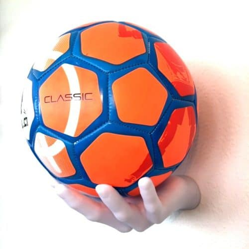 1 stk Fodboldholder BallOnWall Ballhand - Hvid