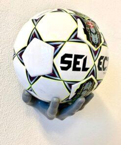 Fodboldholder Ballonwall Boldhånd - Grå