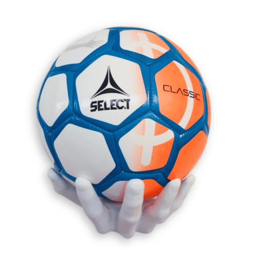 2 stk Fodboldholder BallOnWall Ballhand - Hvid