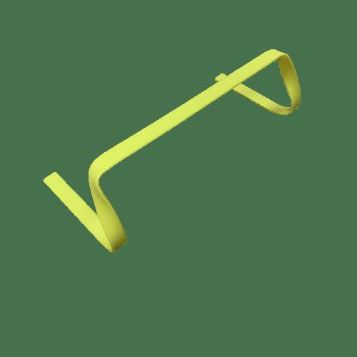 1 stk Sportquip FLAT træningshæk 10 cm