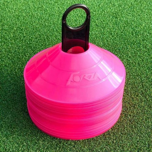 fodboldkegle i pink