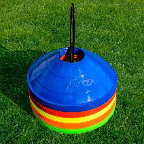 50 stk Kegletoppe i multi farver