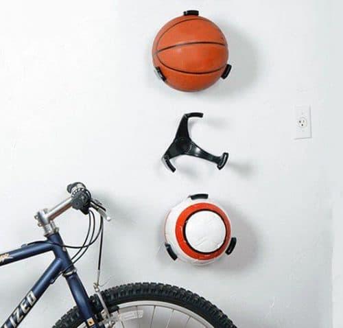 Basketboldholder i Hvid