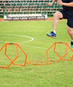 Koordinationsringe hexagon Agility Grid 6 stk.