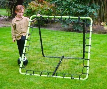 Tempo fodbold rebounder 120 x 120cm