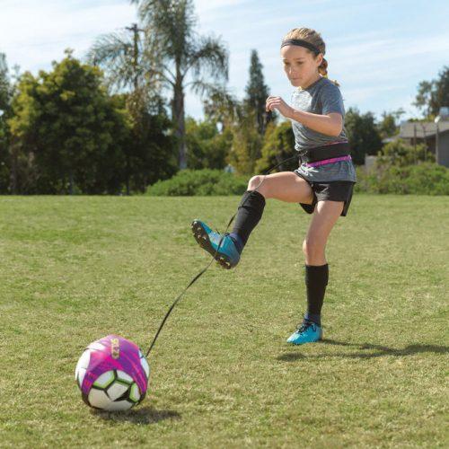 SKLZ JAGGED TIGER Star Kick Solo Fodboldtræner i Pink