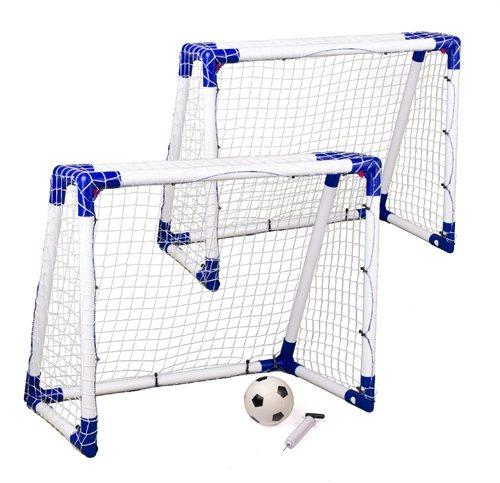 2 stk Fodboldmål Junior Sport 110 x 90 cm