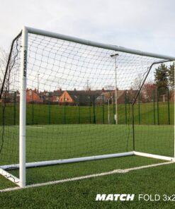 1 stk Fodboldmål Quickplay Match fold 300 x 200 cm