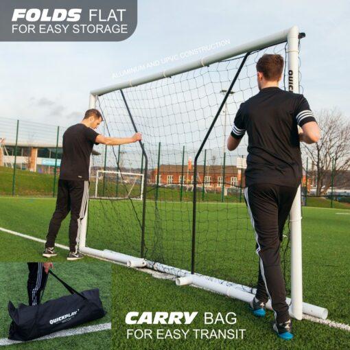 1 stk Fodboldmål Quickplay Match fold 300 x 200 cm3 - Soccerplay.dk Hos Soccerplay.dk kan du købe fodboldmål, fodboldrebounder samt andet udstyr til spil i haven eller i fodboldklubben. Køb udstyr online idag.