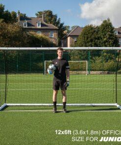 1 stk Fodboldmål Quickplay Match fold 366x 183 cm