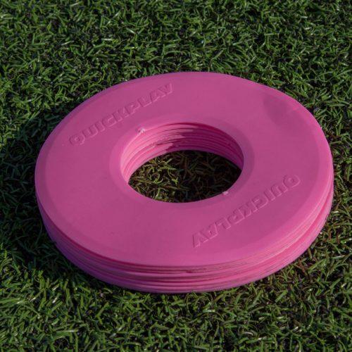 10 stk Antislip Markeringsmåtte Ø19 cm i Pink