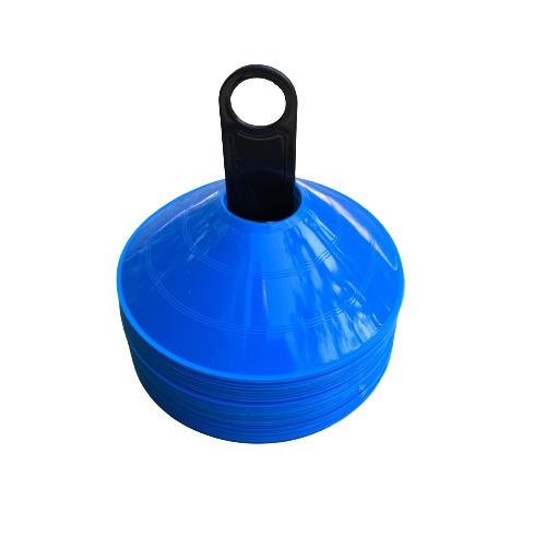 50 stk Freeplay Kegletoppe i blå