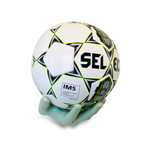 Fodboldholder Ballonwall Boldhånd - Grøn