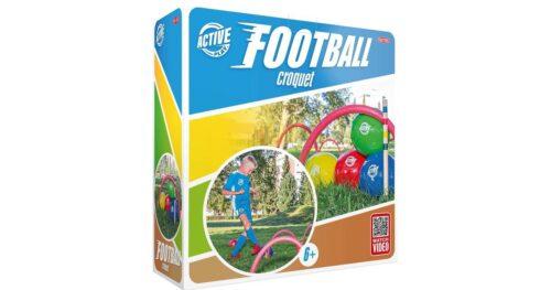 Fodbold Kroket med 4 fodbolde