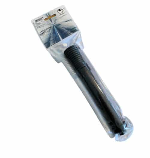 Prof mini boldpumpe fra Uhlsport med tilhørende nål. Den er lille, men utrolig god, da den pumper luft både ved ind og udgående pumpning.