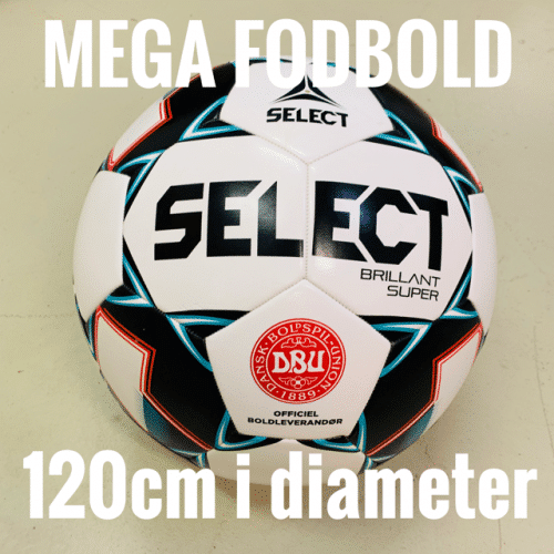 Select Mega Brillant Replica Fodbold 120cm