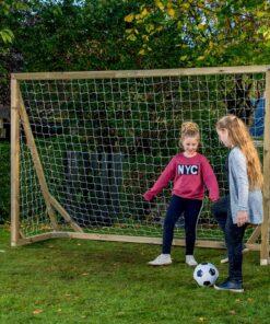1 stk Fodboldmål i træ Natur Classic XL Pro 300 x 200 cm