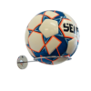 Fodboldholder ORGANIZER i stål - Chrome