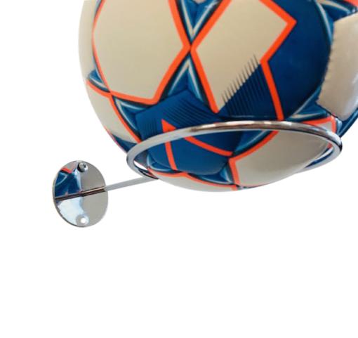 1 stk Fodboldholder ORGANIZER i stål - Chrome