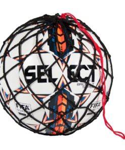 Smart fodboldnet til en fodbold. Net boldpose til dig der er på farten. Kan hænge på din sportstaske eller din skoletaske. Køb online til 39.-