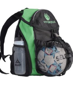 Victoriouz URBAN Ball Back Pack i Grøn