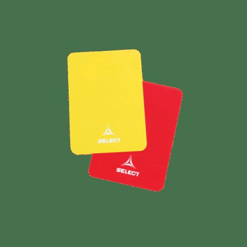 Select Dommerkort i Rød og Gul