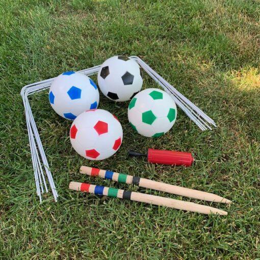 Fodbold Kroket Havespil - 4 personer