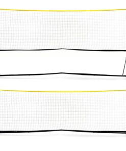 Højdejusterbart fodtennisnet som kan bruges på alle underlag, og er derfor perfekt til både fodtennis, volley, badminton mv.